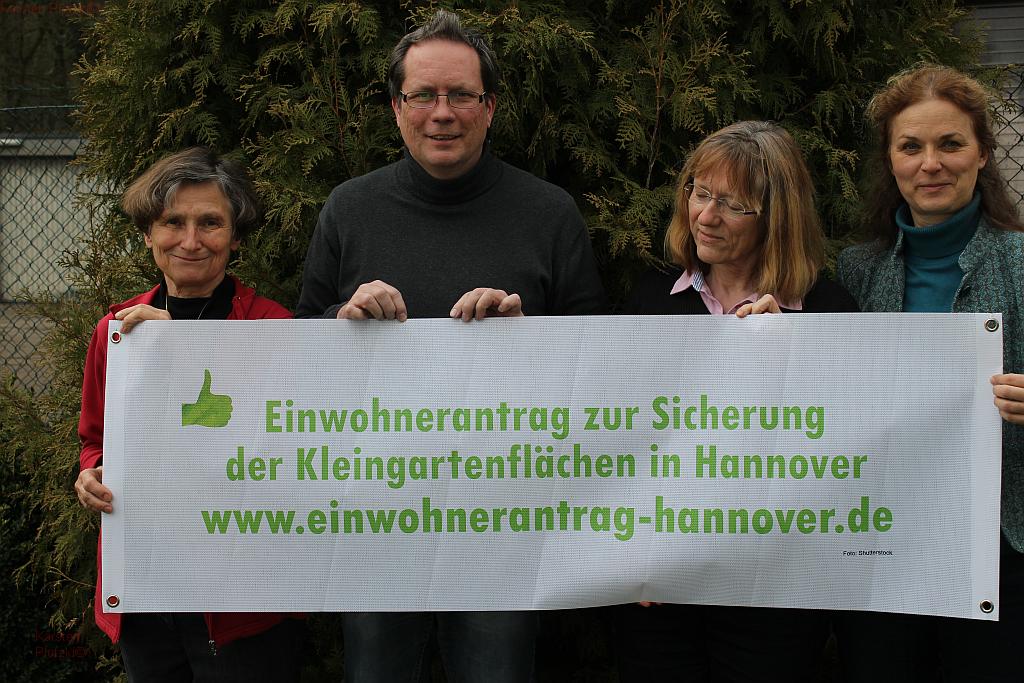 v.l.n.r.: Susanne Leibold, Karsten Plotzki, Rose-Marie Schulz und Sabine Wedekind